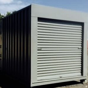 10 ft Shipping Container with Roll Up Door