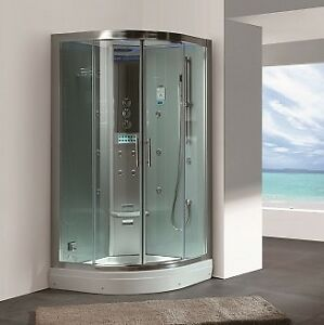 DZ934F3 Steam Shower 35.4″x35.4″x87″