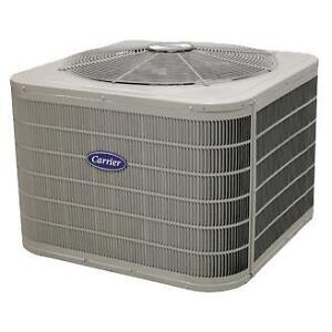 Carrier air conditioners priced right over the phone or online.
