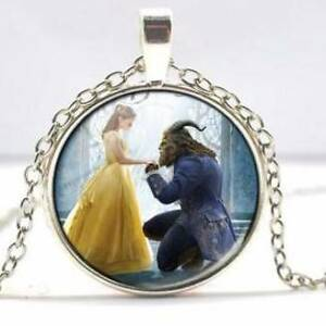 Beauty and Beast necklaces x 2/colouring and sticker set. All NEW Vermont Whitehorse Area Preview