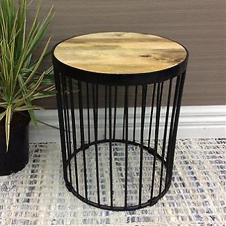 Rustic/Industrial/Retro SUFFOLK SIDE TABLE