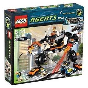 Lego Agents Robo Attack 8970 NEW BRAND NEW