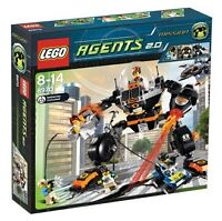 LEGO AGENTS SET 8970 Robo Attack NEW RETIRED