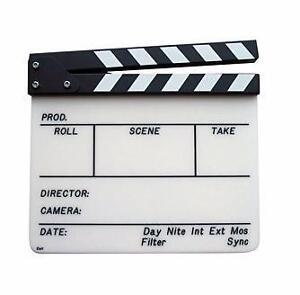 Directors Clapperboard.