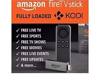 Amazon Fire Stick with Kodi Fully Loaded ✔️ Sports ✔️ Movies ✔️ Freeview ✔️