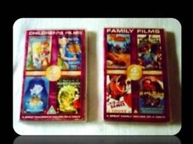 DVDS - FAMILY/ CHILDRENS FILMS - (8 titles) - FOR SALE
