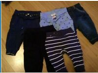 NEXT and Ted Baker 3-6 month baby boy trousers joggers bottoms bundle