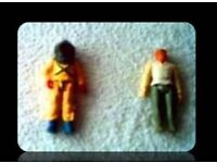 VINTAGE ACTION FIGURES - (2) - FOR SALE