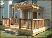 DSL DECKS & FENCE - from $14 per foot - 819-431-3767