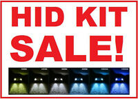 2X HID / Xenon Replacement Bulbs Xenon Sale $25/set ALL Colours