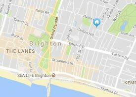Brighton Double Rooms Available. Central location. £565 - £620