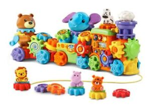 VTech GearZooz Roll & Roar Animal Train - $15