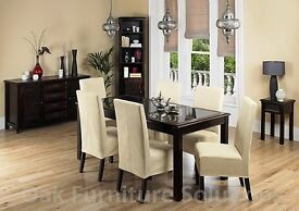 Jafar dining room table & 6 chairs from Furniture Village