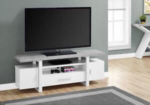 """meubles tele 60 """" 2 choix de couleurs"""