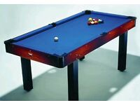 6''ft Pool Table - Needs to go soon as being replaced.
