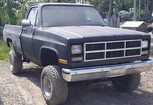 Fully rebuilt chevy 4x4