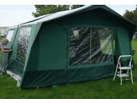 Trailer tent for sale includes all you need for your camping trip - excellent value with awning