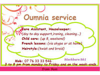 care assistant/ housekeeper