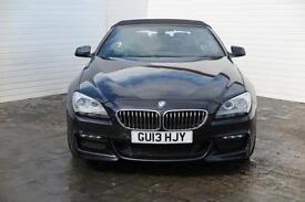 2013 BMW 6 Series 2013 13 BMW 6 Series 640D 3.0D M Sport Auto 313BHP Convertible