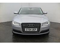 2014 Audi A8 2014 64 Audi A8 3.0 TDI Quattro Sport Executive Diesel silver Autom