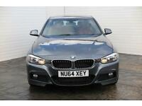 2014 BMW 3 Series 2014 64 BMW 3 Series D 2.0D M Sport 184BHP 4 Door Diesel grey