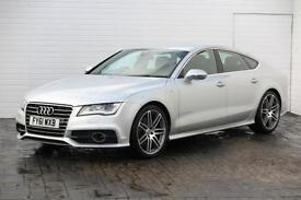 2011 Audi A7 2011 61 Audi A7 3.0 TDI S Line Quattro Auto 245BHP Diesel silver A