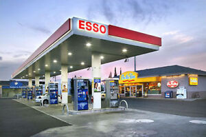 ESSO GAS STATION WITH RESTAURANT FOR SALE!!! CALL