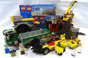 LEGO City set 4204 The Mine with instructions and minifigures