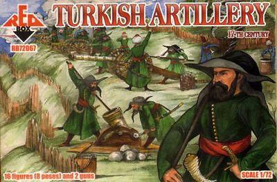 Red Box 1/72 Turkish Artillery 17th Century # 72067