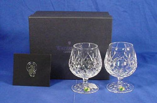 Crystal brandy snifters ebay - Waterford cognac glasses ...