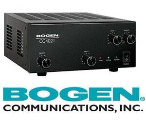 NEW BOGEN 2 INPUT AMPLIFIER 40W - 129489986 - CC SERIES Mixer-Amplifier