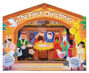 First Christmas (Junior Press Out and Build Gift Box), Linn, Susie, New Book