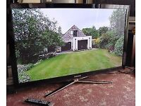 TELEVISION 50'' SAMSUNG 3D 1080P TV WITH BUILT IN FREEVIEW AND 4 PAIRS GENUINE ACTIVE 3D GLASSES
