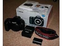 Canon EOS 60D 18.0MP DSLR Camera with Box - Black (Body Only)