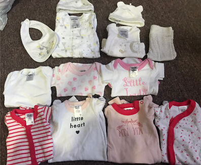Baby Girl (13pieces)Tiny Baby 00000 + Premmie Clothes