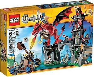 Lego Castle Dragon Mountain 70403 For Sale Online Ebay
