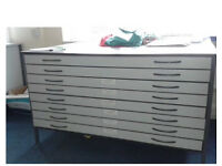 8 DRAWER ARCHITECT CHEST - A0 DRAWINGS ( RRP Was Over £400)