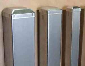Galvanised Steel Tube Square Posts 100x100x2mm For Fencing