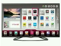 "LG 47"" LED smart wifi built USB MEDIA PLAYER HD FREEVIEW and freesat full hd 1080p ."