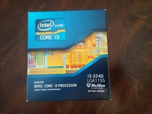 CPU BNIB Intel Core i3-3240 Ivy Bridge