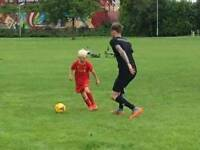1 to 1 private football coaching
