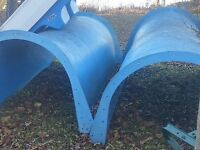 Water slide, 2 sections
