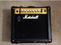 Marshall MG15DFX Electric Guitar Amp