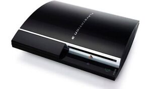 PS3 WITH CORDS AND CONTROLLER for sale