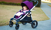 Très belle poussette single baby jogger City select+adaptateur