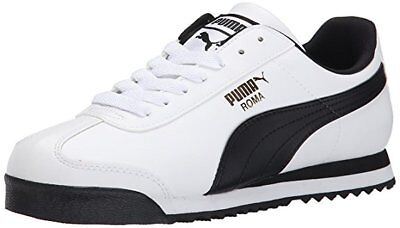 PUMA Roma Basic Classic 35357204 White Black Mens Shoes Sneakers All Sizes