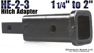 """WANTED: Trailer hitch / receiver adapter 1.25 to 2"""""""