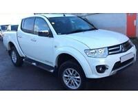 MITSUBISHI L200 2.4 2.5 DI-D BARBARIAN CrewCab WARRIOR Trojan FROM £57 PER WEEK!