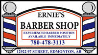 Experienced Barber Position Available! Flexible Hours!