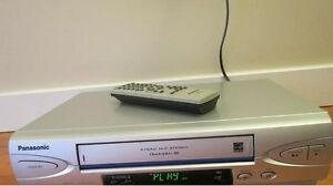 Like new VCR with original remote control